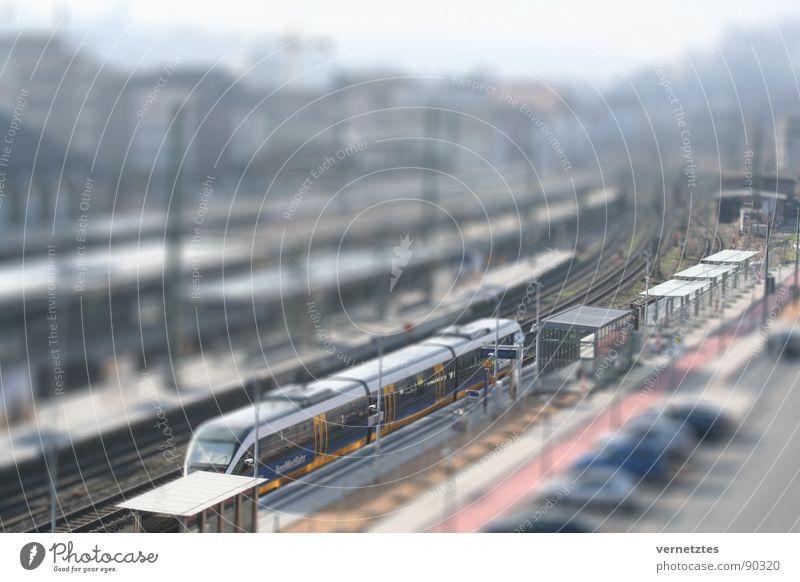 Street Car Transport Railroad Toys Railroad tracks Train station Parking lot Platform Miniature Bielefeld Model-making