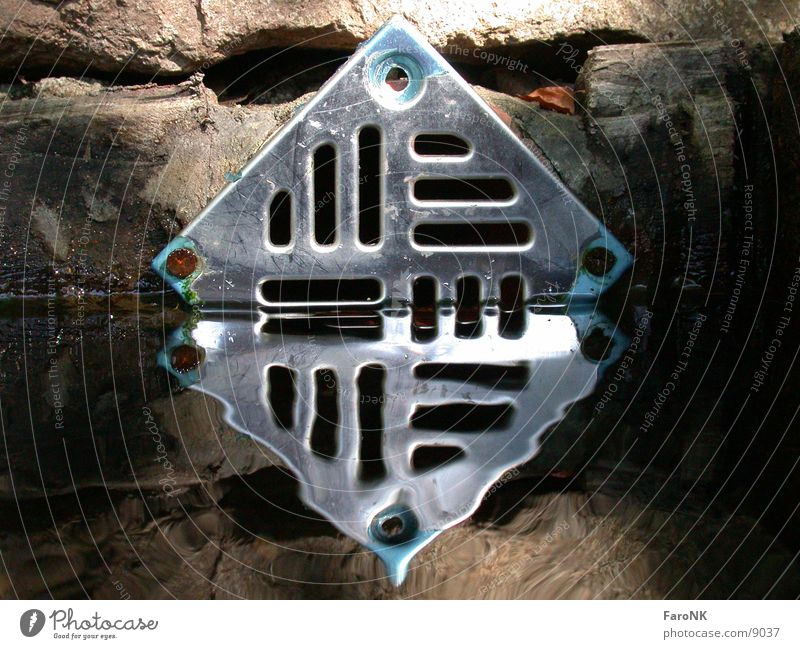 Water Metal Well Photographic technology