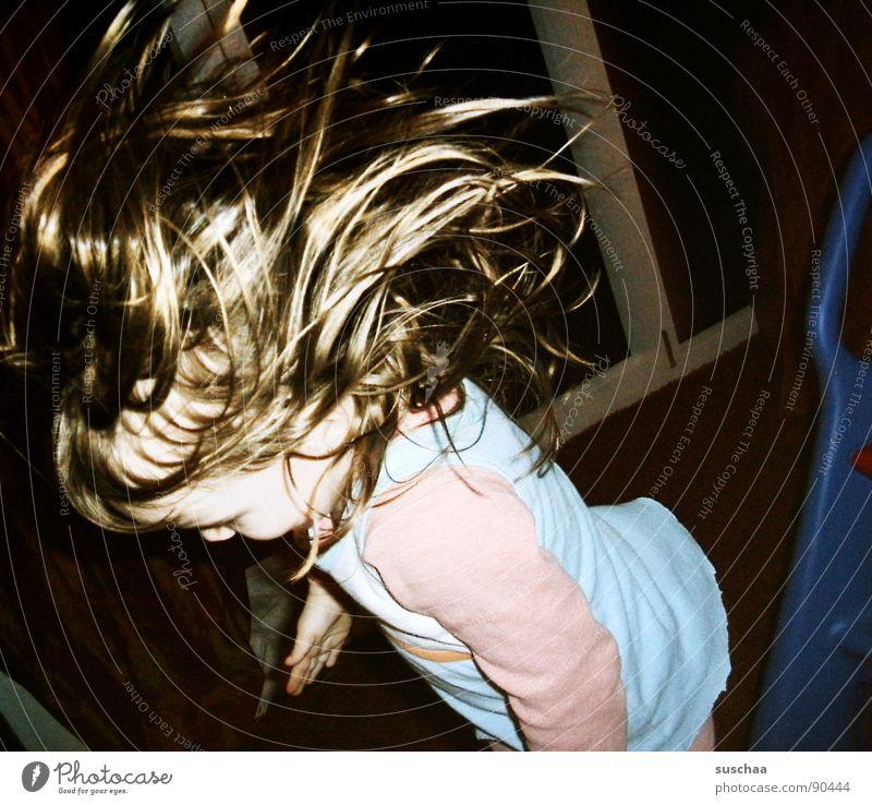 (b)angel fliiiiiieg ... Living room Slide Hop Child Toddler Playing Loud Joy Hair and hairstyles To fall Laughter