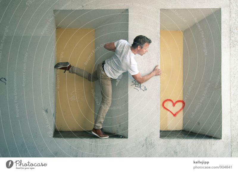 Human being Man Eroticism Adults Life Graffiti Emotions Love Couple Masculine Leisure and hobbies Body Sex Heart Romance Wedding