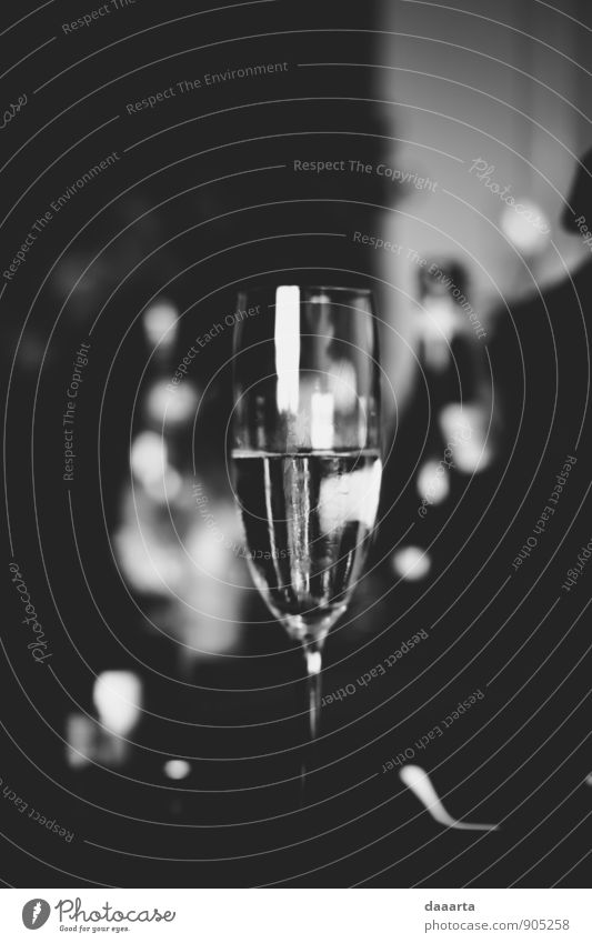 bw chapagne Beverage Alcoholic drinks Sparkling wine Prosecco Champagne Lifestyle Elegant Style Joy Happy Leisure and hobbies Playing Flat (apartment) Event