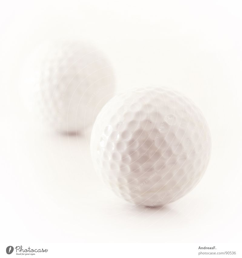 Golf. Golf ball White Mini golf Leisure and hobbies Playing Golf course Golfer Hard Sports Ball High-key Bright Statue