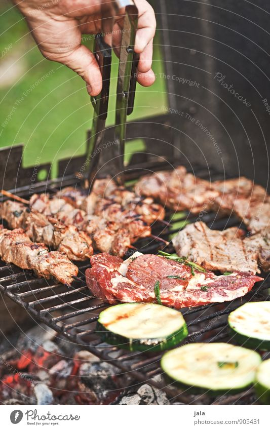 have a barbecue Food Meat Vegetable Nutrition Lunch Dinner Barbecue (event) Cutlery Hand Fresh Delicious Barbecue (apparatus) Grill Charcoal (cooking)