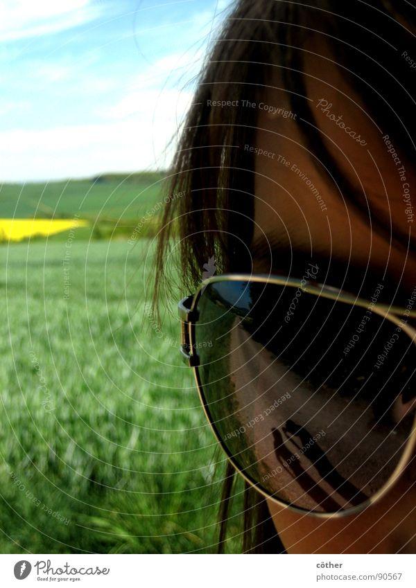 Casting shadows Eyeglasses Spring eye Eyes clear sun