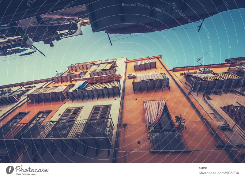 Vacation & Travel Old City Window Travel photography Architecture Building Facade Dirty Tourism Authentic Vantage point Transience Romance Culture Italy