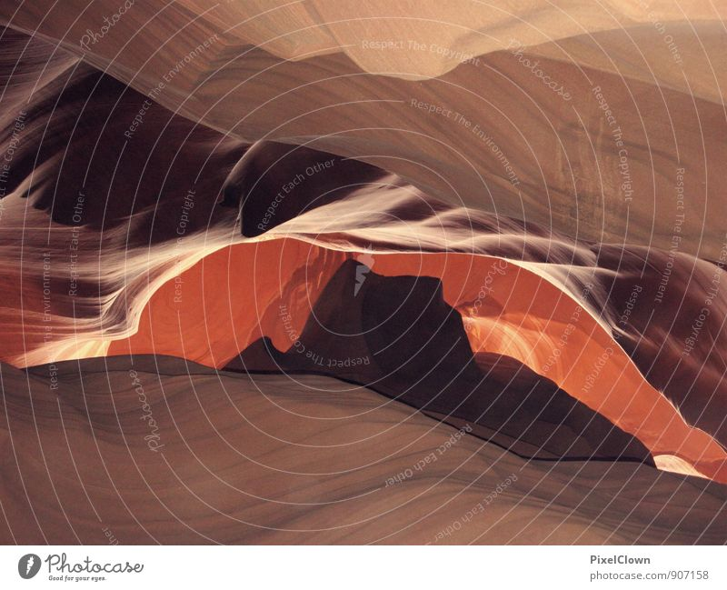 Antelope Canyon Sculpture Nature Landscape Elements Rock Tourist Attraction Stone Discover Vacation & Travel Exceptional Famousness Brown Pink Wanderlust