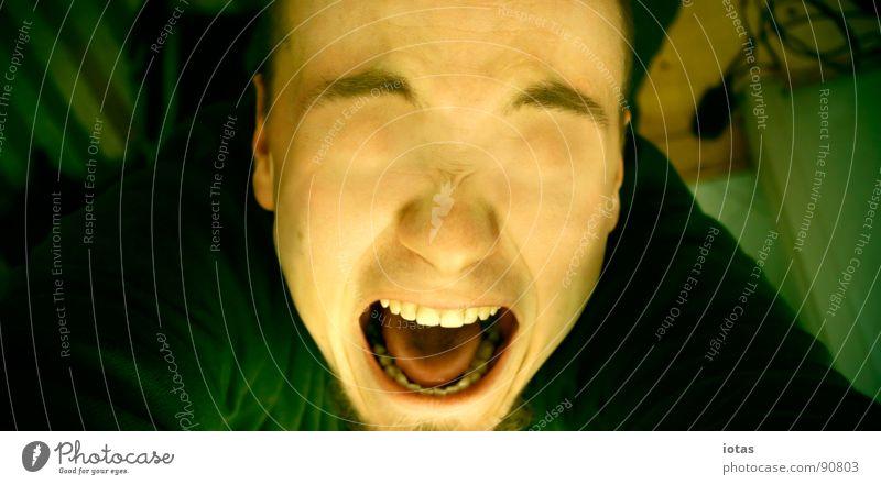 he colored me blind Scream Blind Portrait photograph Lack Transience Fear Panic Dangerous Eyes Colour perversion for profit