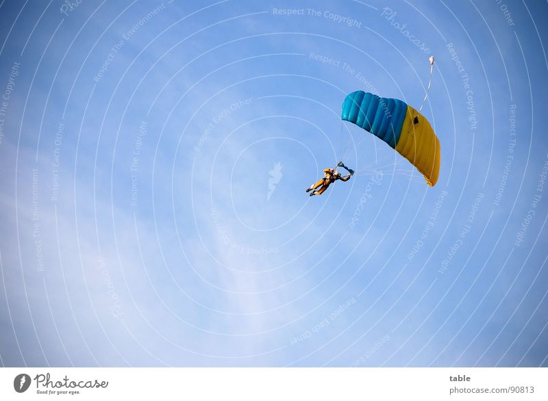 Sky Blue Clouds Sports Freedom Style Air Adventure Flying Leisure and hobbies Action Dangerous Cool (slang) Uniqueness Brave Hover
