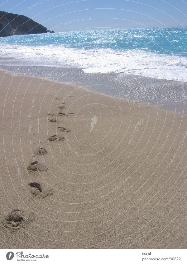 Summer Beach Sand Lefkas