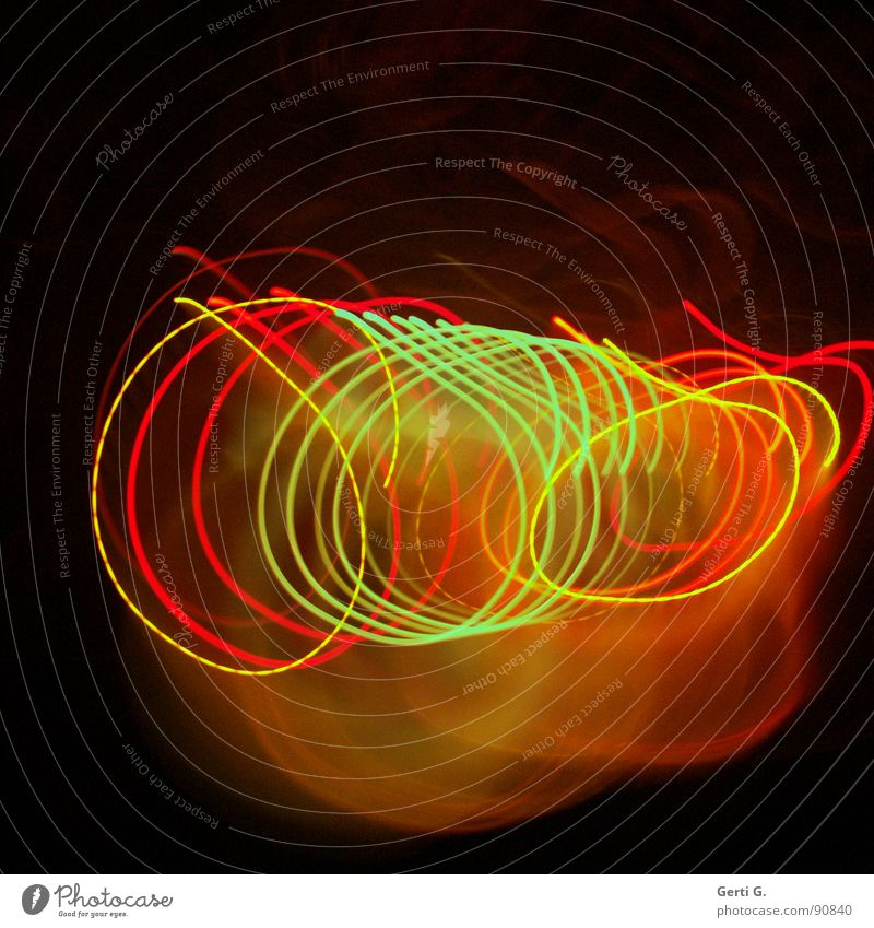 Green Red Joy Yellow Colour Lamp Playing Movement Music Bright Lighting Orange Technology Round Romance Shows