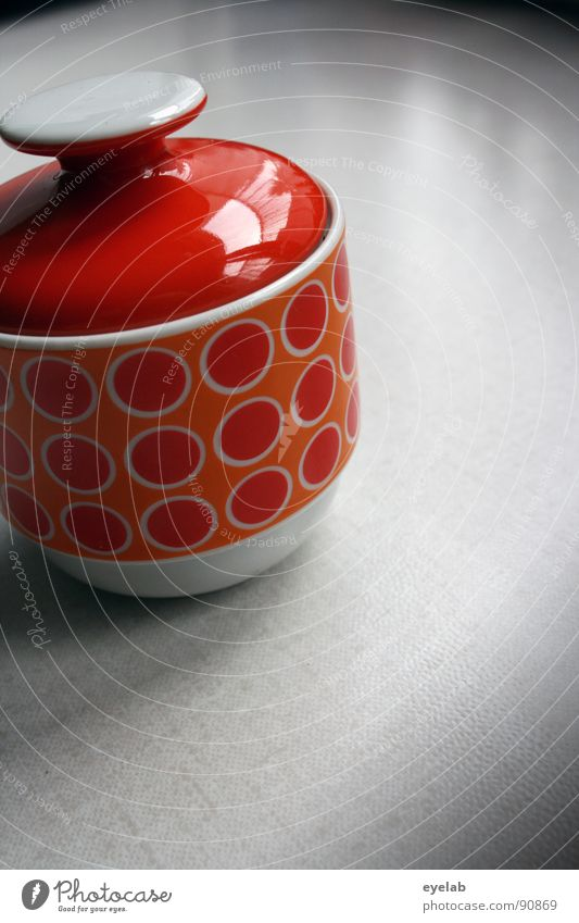 Old Loneliness Orange Sweet Retro Kitchen Past Crockery Candy Obscure Sugar Tin Sixties Vintage Quality Gully
