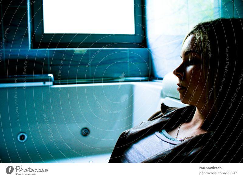 Living in a tub Bathroom Light Calm Bathtub Glittering Shadow Peace Marble Stage play