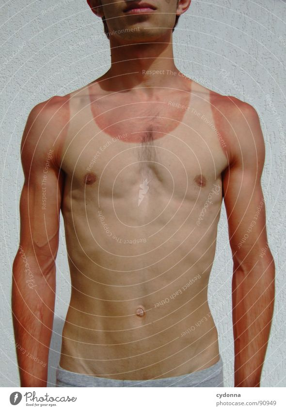 Human being Man Vacation & Travel Summer Sports Life Naked Emotions Movement Body Germany Skin Action Stand Thin Shirt