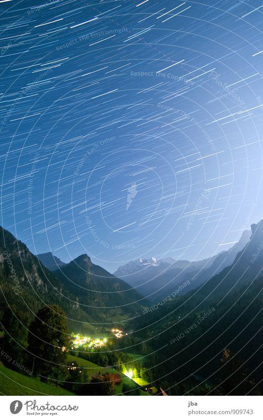 Kiental - Blüemlisalp - 25 min. Relaxation Calm Far-off places Freedom Summer Mountain Nature Landscape Elements Air Night sky Stars Beautiful weather Alps