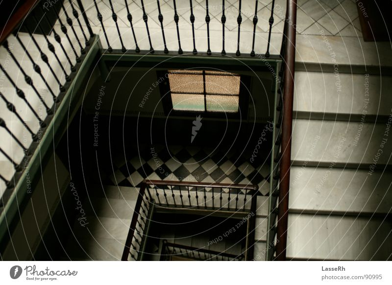 Spanish stairs Spain Staircase (Hallway) Barcelona Architecture Handrail