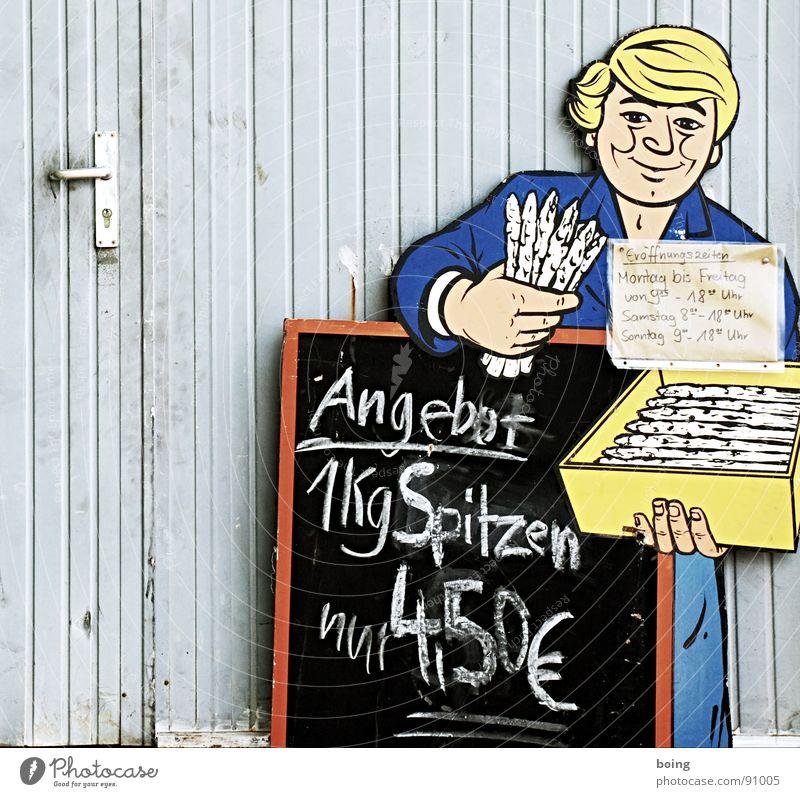 Door Signs and labeling Fresh Kitchen Harvest Gastronomy Vegetable Blackboard Advertising Stalk Farmer Chalk Weight Markets Advertising Industry Euro symbol