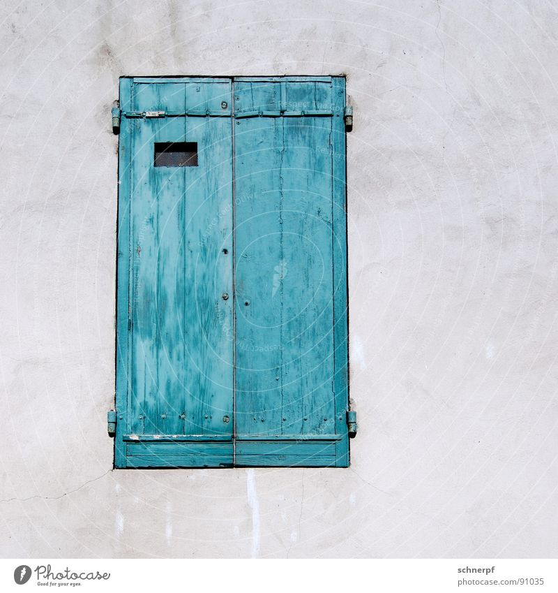 Closed today. Window Wood House (Residential Structure) Simple Wall (building) Green Vacation & Travel Two-tone France Loneliness Southern France Painted Room