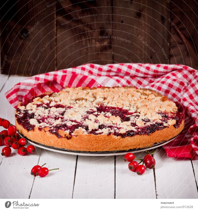 Old Eating Dish Brown Food Food photograph Fruit Retro Cooking & Baking Cake Fat Sugar Tablecloth Gateau Wooden table Dog rose