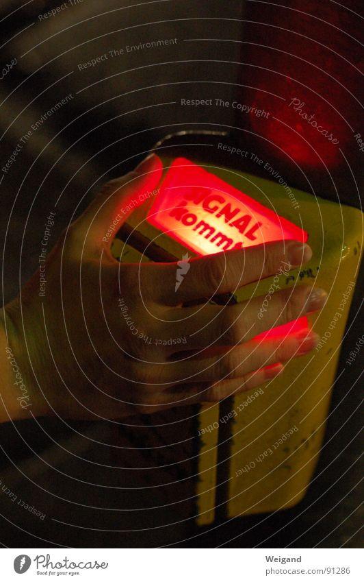 Signal coming Life goal Prayer Traffic light Beginning New start Vantage point Hand Dark Expectation Insecure Spirituality Deities Connectedness Endurance Hope