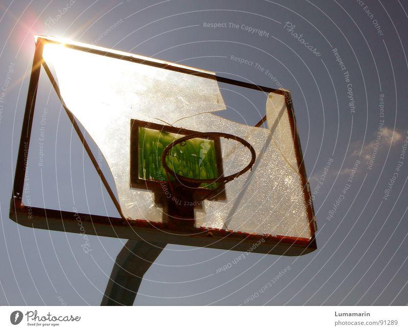 Sky Sun Summer Sports Playing Warmth Leisure and hobbies Broken Target Ball Physics Anger Broken Destruction Throw Basket