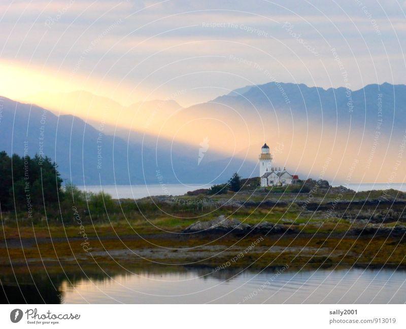 Summer Ocean Relaxation Landscape Loneliness Calm Mountain Coast Dream Illuminate Power Island Fantastic Adventure Hope Belief