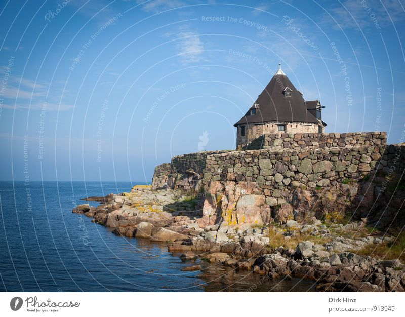 Sky Vacation & Travel Old Water Landscape Coast Stone Horizon Tourism Air Power Island Culture Beautiful weather Elements Tower