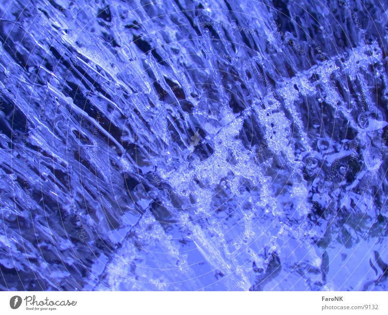Water Blue Ice