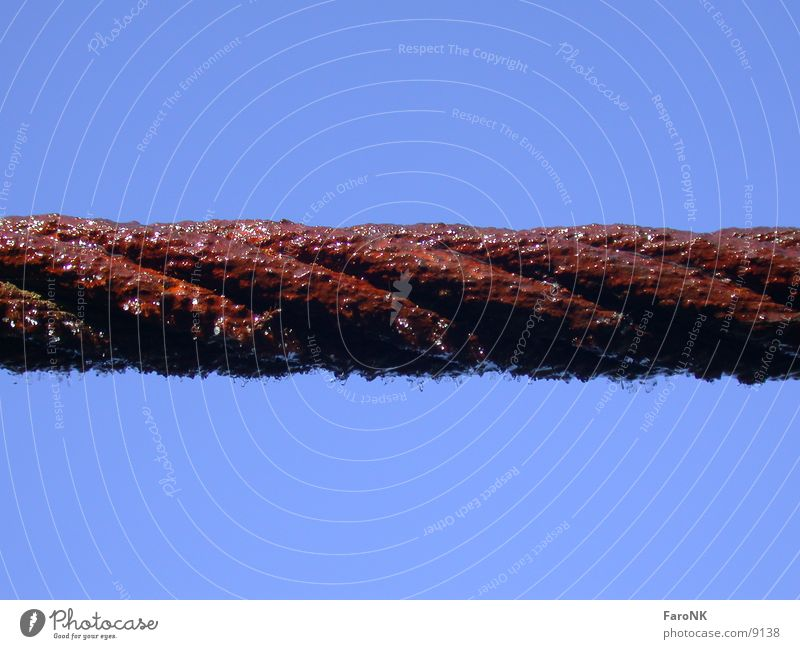 Red Ice Rope Industry Rust Wire cable