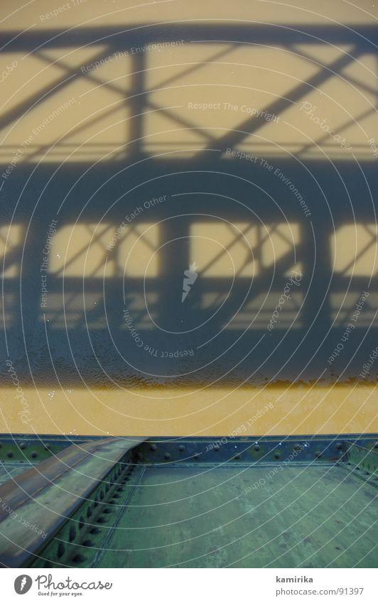 Water Metal Dirty Bridge River Mirror Steel Rust Build Geometry Brook Construction Iron Steel carrier Bypass