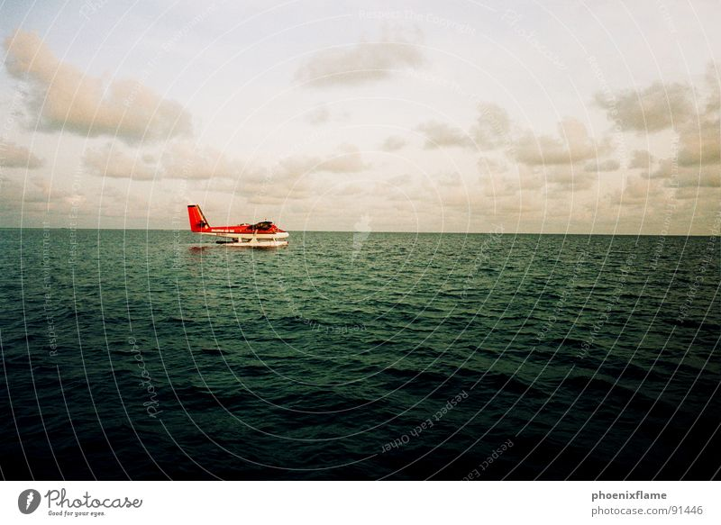 Ocean Red Vacation & Travel Airplane Asia Maldives