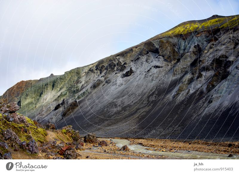 Iceland II Relaxation Calm Vacation & Travel Tourism Trip Adventure Far-off places Freedom Island Mountain Hiking Greenland Volcano Volcanic crater