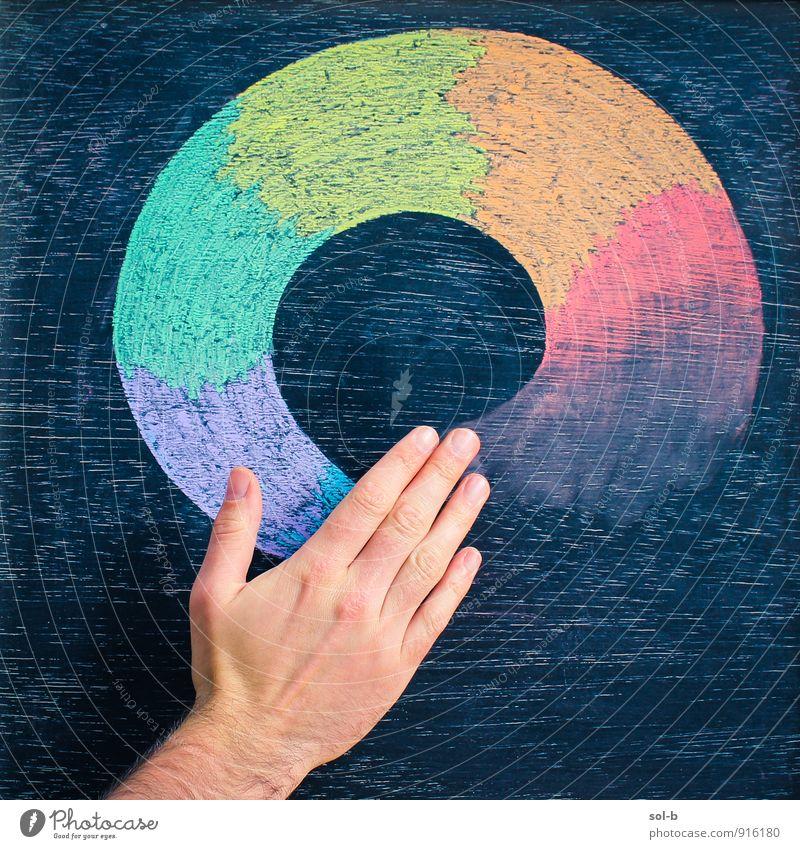 hmgnfr Colour Hand Joy Funny Art Masculine Design Crazy Circle Creativity Joie de vivre (Vitality) Touch Cool (slang) Culture Exotic Positive