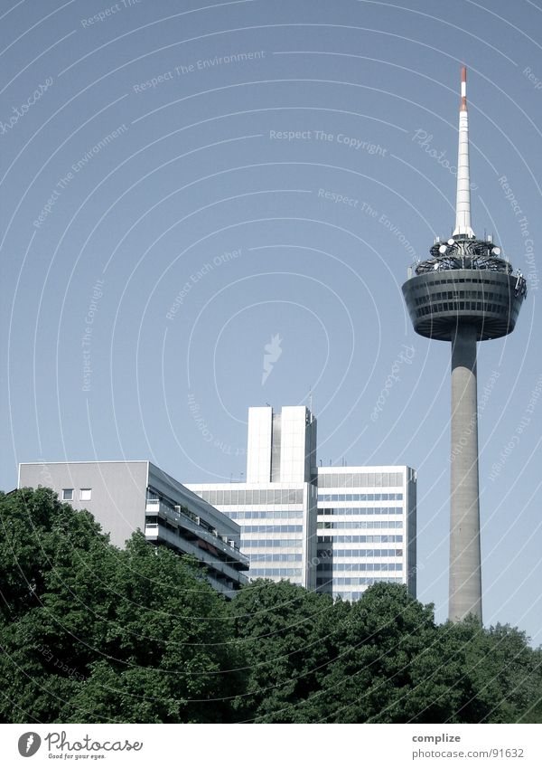 City Flat (apartment) High-rise Tower Telecommunications Vantage point Cologne Television tower North Rhine-Westphalia Colonius - television tower