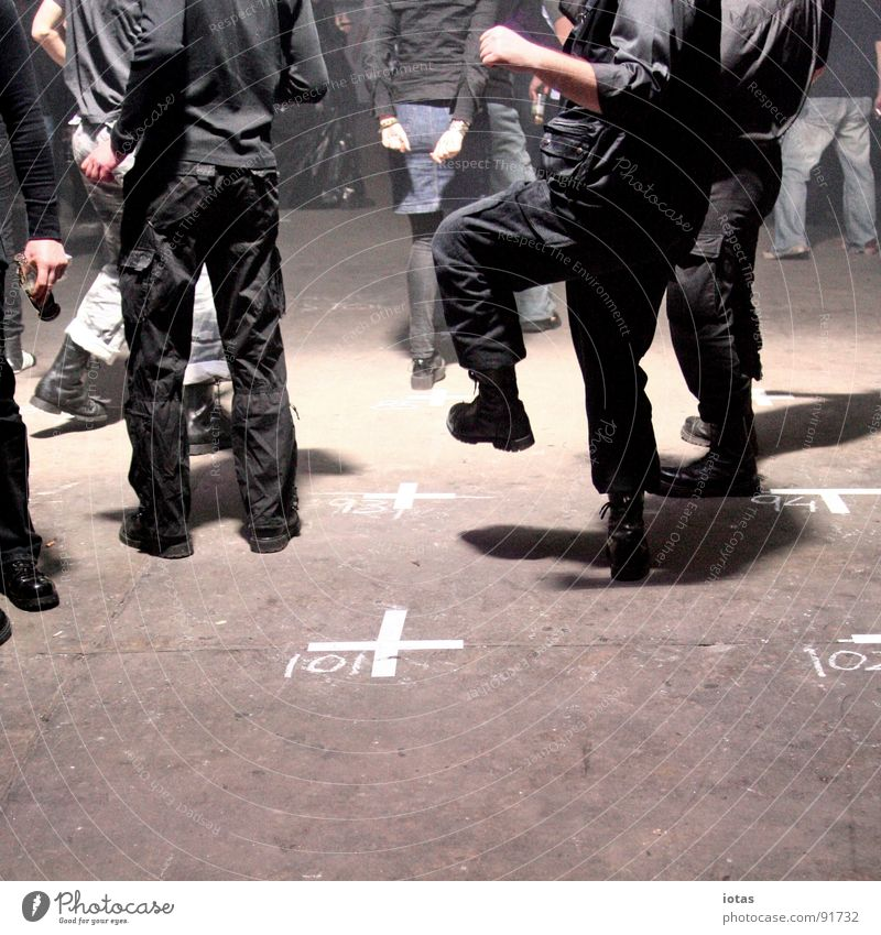 Joy Dark Party Music Stone Feet Dance Going Walking Back Floor covering Club Event Chalk Dance floor