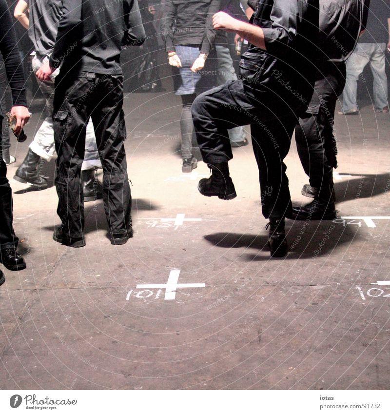 Joy Dark Party Music Stone Feet Dance Going Walking Back Floor covering Club Event Chalk Dance floor