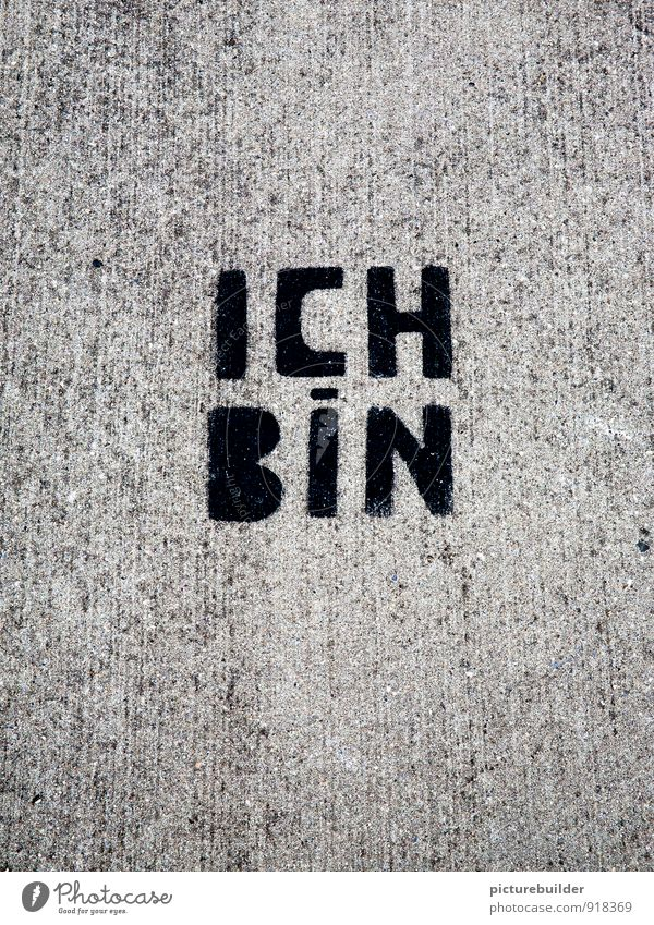 City Street Graffiti Emotions Gray Contentment Characters Positive Pride Senses Smart