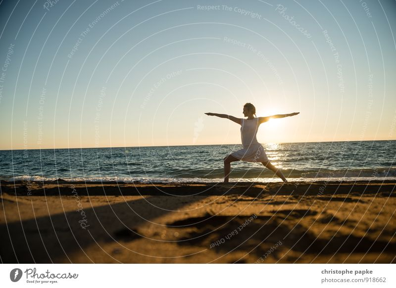 Sun Salutation VI Life Harmonious Well-being Contentment Relaxation Meditation Leisure and hobbies Vacation & Travel Summer Summer vacation Beach Ocean Sports