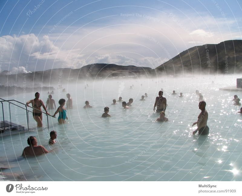 Vacation & Travel Europe Wellness Swimming & Bathing Iceland Blue Lagoon