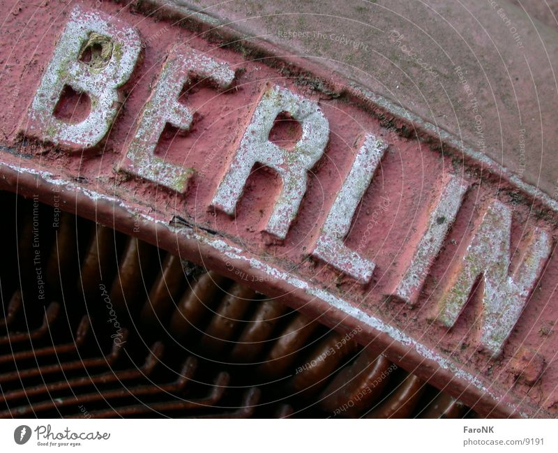 Berlin Town Red Macro (Extreme close-up) Close-up Rust
