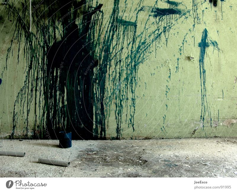 Colour Dark Wall (building) Style Movement Dye Moody Art Dirty Back Wild Derelict Decline Trashy Dynamics Shabby