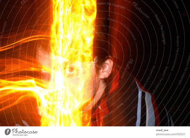 Fire expirience 02 Abstract Evil Blaze manfred straightforward intensely coloured Experimental