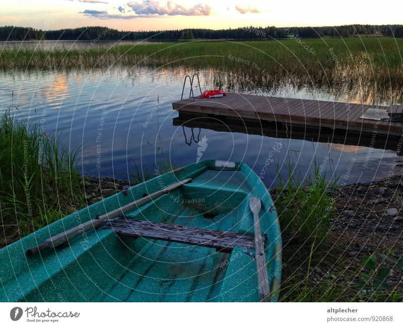 Nature Blue Plant Green Water Summer Relaxation Loneliness Landscape Clouds Environment Grass Wood Lake Air Waves