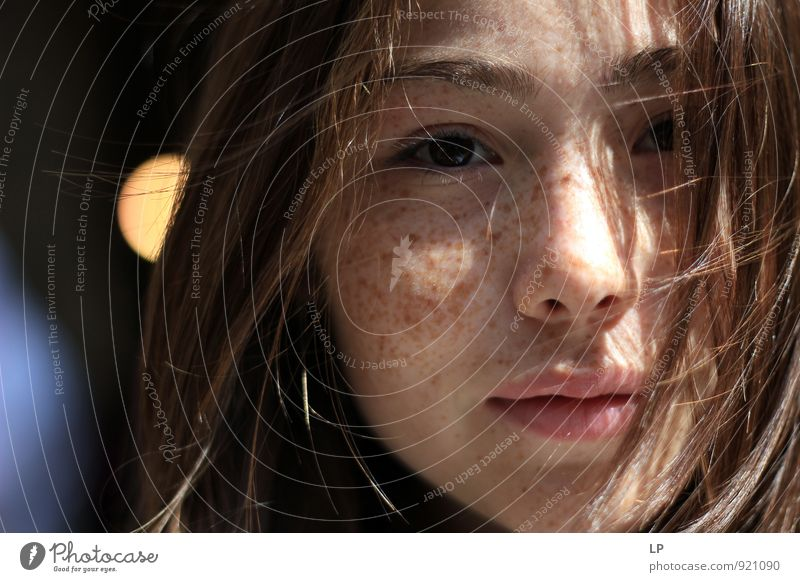 E1 Human being Woman Child Youth (Young adults) Beautiful Young woman Girl Adults Face Eyes Feminine Natural Hair and hairstyles Head Contentment Illuminate