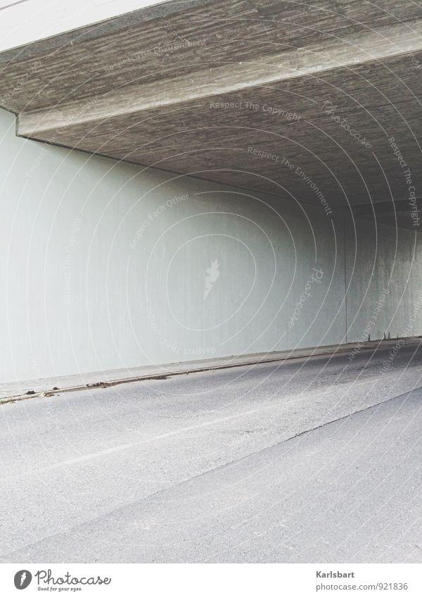 City Calm Street Lanes & trails Gray City life Transport Empty Concrete Bridge Logistics Asphalt Traffic infrastructure Geometry Tunnel Bleak