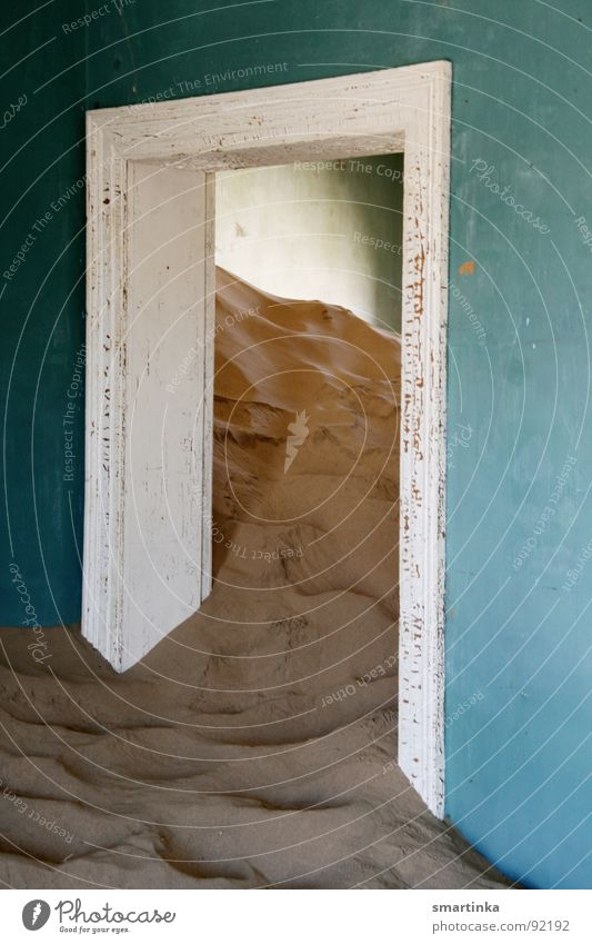 Sand Desert Derelict Decline Ruin Namibia Ghost town Luderitz