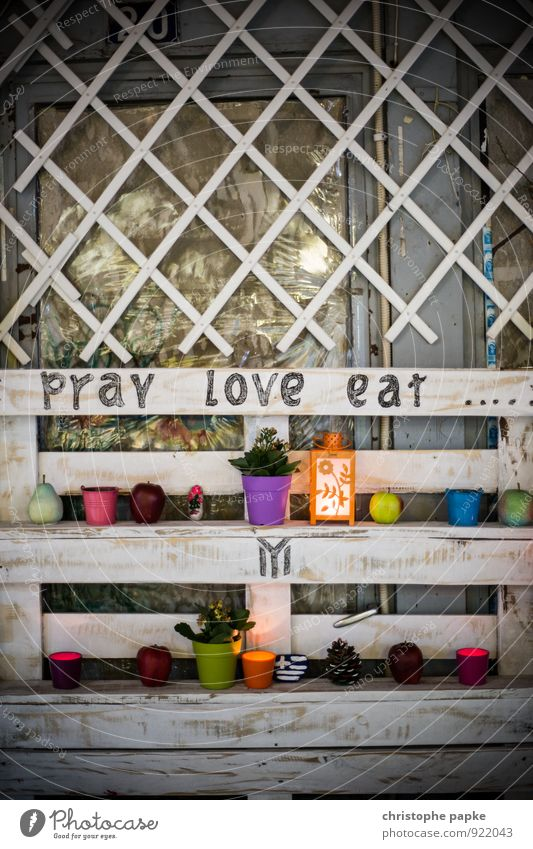 Pray Love Eat Nutrition Slow food Lifestyle Wellness Harmonious Well-being Contentment Relaxation Meditation Vacation & Travel Eating Art Decoration Candle
