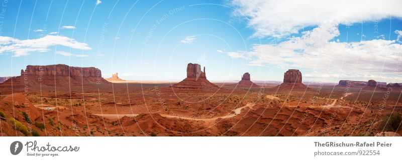 monumental Nature Landscape Earth Sand Clouds Horizon Summer Dirty Blue Brown Yellow Gold White Monument Native Americans Navajo Reservation Column Sandstone