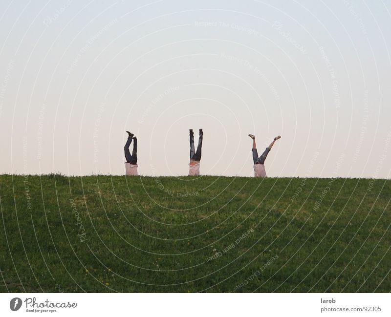 Joy Meadow Freedom Friendship Attachment Handstand