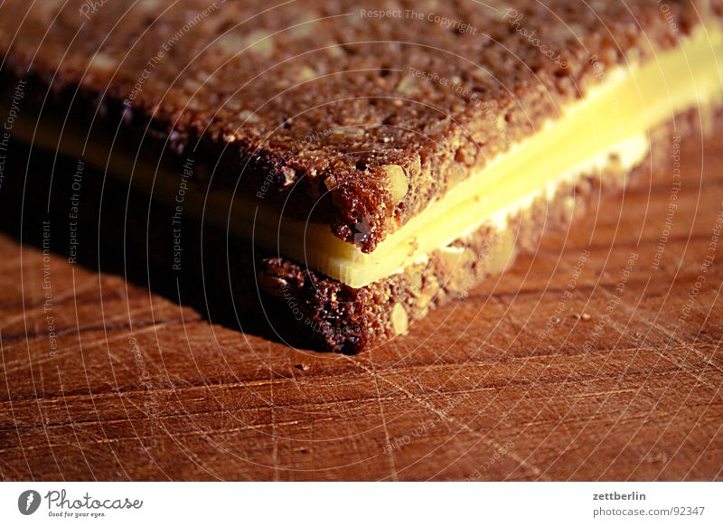 sandwich cheese Bread Sandwich Brunch Dinner Snack bar Sunflower Sunflower seed Cheese Sliced cheese Gouda Butter Dairy Dairy Products Envelope (Mail) Nutrition