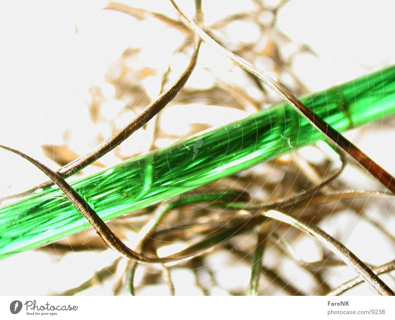 Green Metal Glass Rod